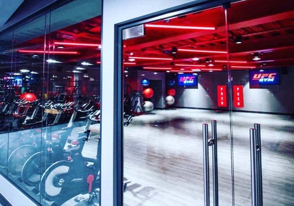 UFC GYM Exercise Bike Area
