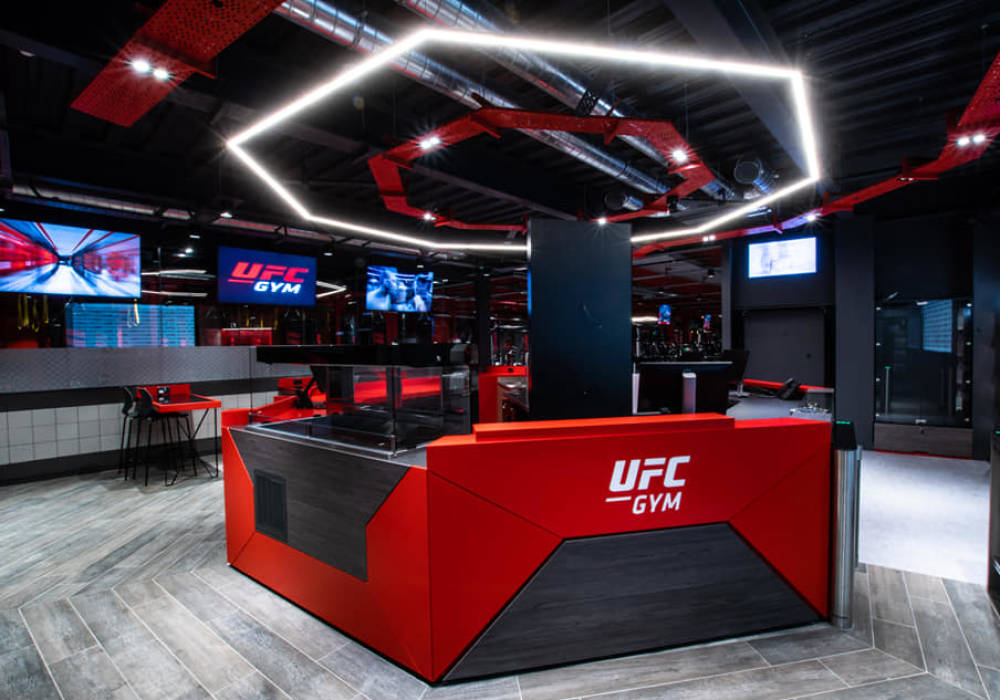 ufc gym octagon Reception Desk